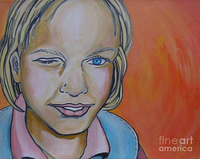 Painting - Wink by Sandra Yuen MacKay