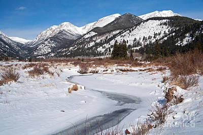 Photograph - Winter At Horseshoe Park In Rocky Mountain National Park by Fred Stearns