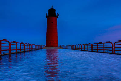 Photograph - Winter Beacon by Randy Scherkenbach