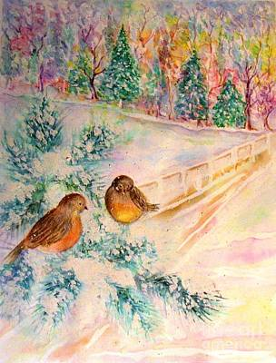 Painting - Winter Beauty by Hazel Holland