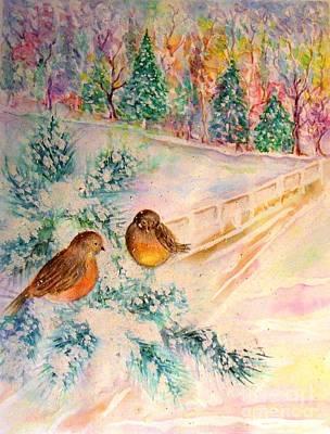 Painting - Winter Beauty by Hazel Holland