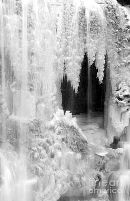 Photograph - Winter Cave by Jeannette Hunt