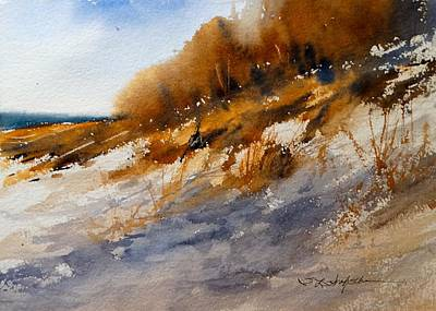 Painting - Winter Dune by Sandra Strohschein