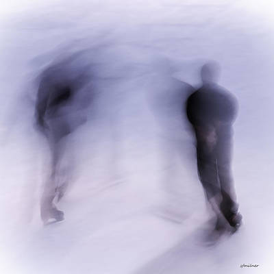 Photograph - Winter Illusions On Ice - Series 3 by Steven Milner