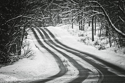 Photograph - Winter Journey by Sara Frank
