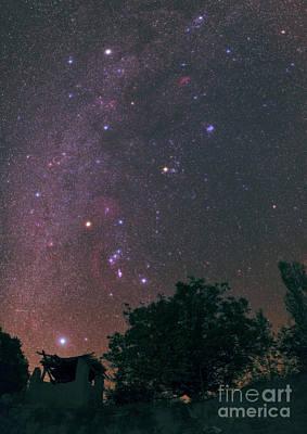 Capella Photograph - Winter Milky Way by Babak Tafreshi