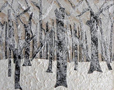Mixed Media - Winter by Patricia  Tierney
