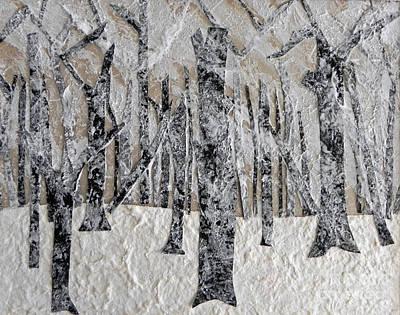 Mixed Media - Winter by Patricia  Tierney