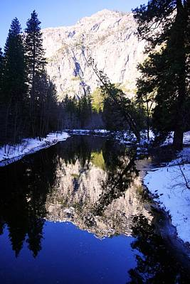 Photograph - Winter Reflection by Michael Courtney