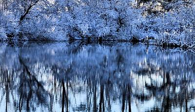 Photograph - Winter Reflections by Dan Sproul