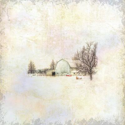 Rural Scenes Digital Art - Winter Rest II by Pamela Baker
