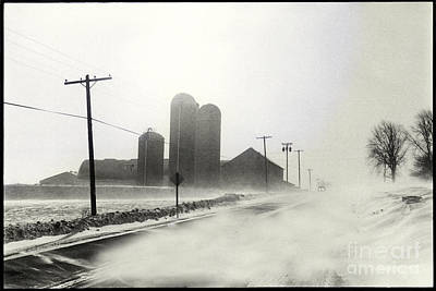 Photograph - Winter Road by Mark Avery