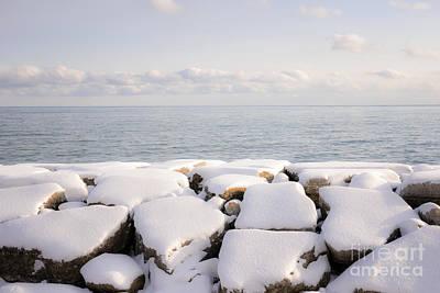 Photograph - Winter Shore Of Lake Ontario by Elena Elisseeva