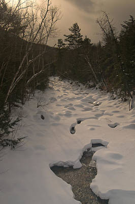 Photograph - Winter Stream by Paul Mangold