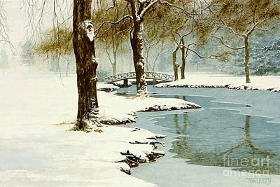 Painting - Winter Willows by Frank Townsley