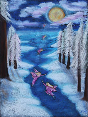 Pastel - Winter's Sleep by Diana Haronis