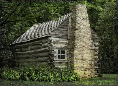 Wisconsin Homestead  Art Print by Jack Zulli