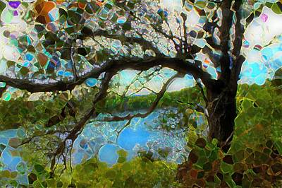 Mixed Media - Wishing Tree by Terence Morrissey