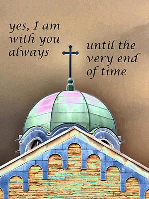 Painting - With You Always by Patricia Januszkiewicz