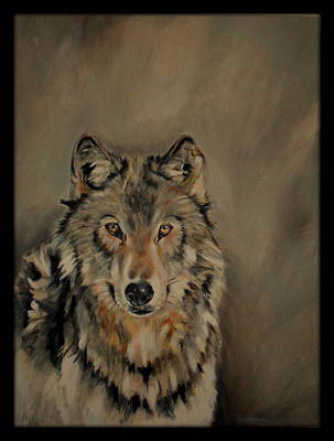 Wolve Painting - Wolve by Giselle Schorren