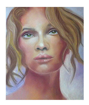 Pastel Painting - Woman by Graciela Scarlatto