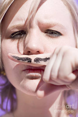 Goofy Photograph - Woman Working Undercover by Jorgo Photography - Wall Art Gallery
