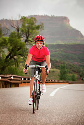 Fort Collins Photograph - Women Cyclists by Steve Glass