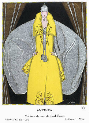 Carousel Collection Drawing - Women's Fashion, 1920 by Granger