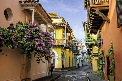 Wonderful Spanish Colonial Architecture Art Print