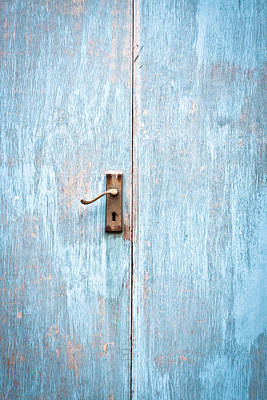 Photograph - Wooden Door by Tom Gowanlock