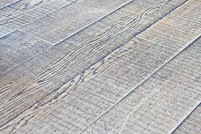Wood Grain Photograph - Wooden Floor by Tom Gowanlock