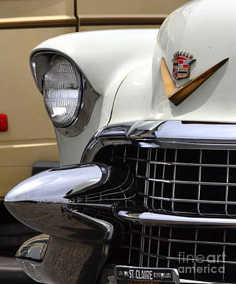 Cadilac Photograph - Cadillac Headlight by Dean Ferreira