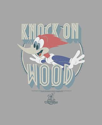 Woodpecker Digital Art - Woody Woodpecker - Knock On Wood by Brand A