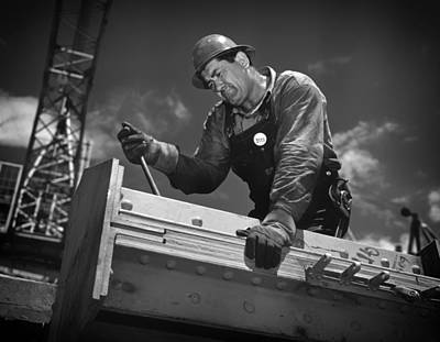 Tva Photograph - Working At Douglas Dam In Tennessee 1942 by Mountain Dreams