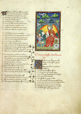 Works Of Christine De Pisan Art Print