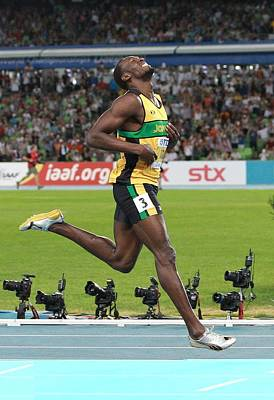 Usain Bolt Photograph - World Athletics Championships, Korea by Science Photo Library