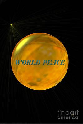 World Peace Digital Art - World Peace by Gerlinde Keating - Galleria GK Keating Associates Inc