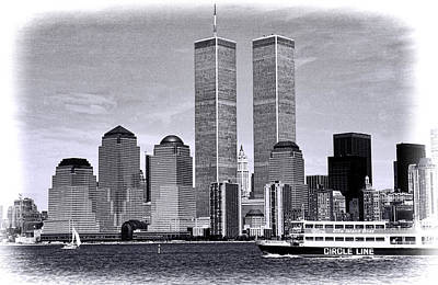 World Trade Center 3 Art Print by Allen Beatty
