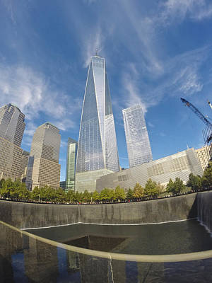 Photograph - World Trade Center by Steven Lapkin