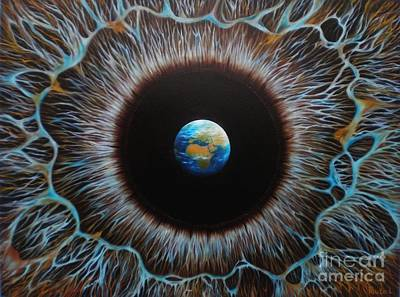Painting - World Vision by Paula Ludovino