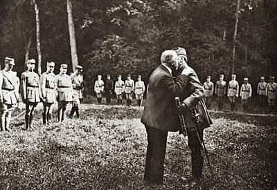 Ally Photograph - World War I Baton, 1918 by Granger