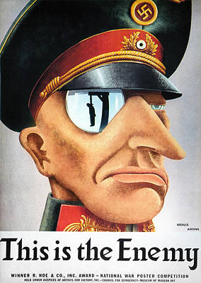 World War II Poster, 1942 Art Print