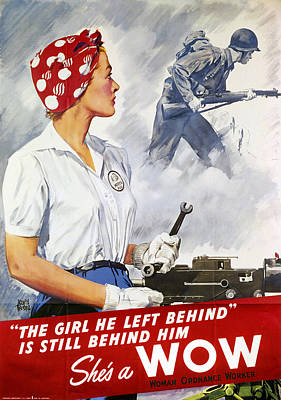 Photograph - World War II Poster by Granger