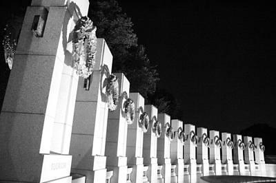 Photograph - World War Pillars by Cora Wandel