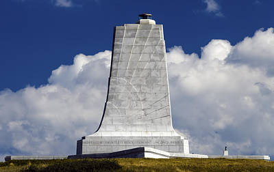 Winter Animals - Wright Brothers Memorial  by Greg Reed