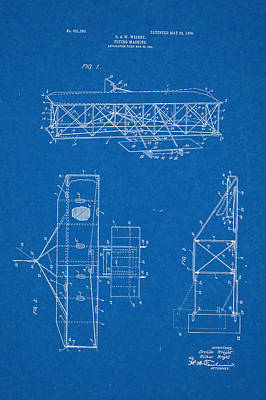 Flyers Drawing - Wright Flyer 1903 by Salvatore Lorenzen