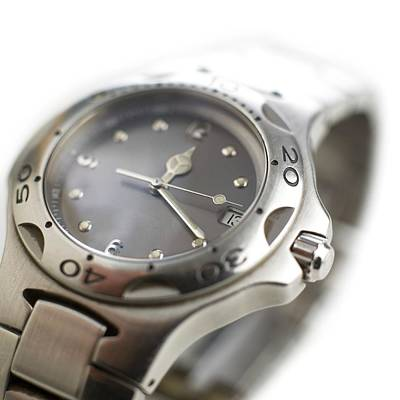 Wristwatches Photograph - Wristwatch by Science Photo Library