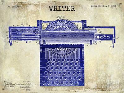 Writer Art Print by Jon Neidert