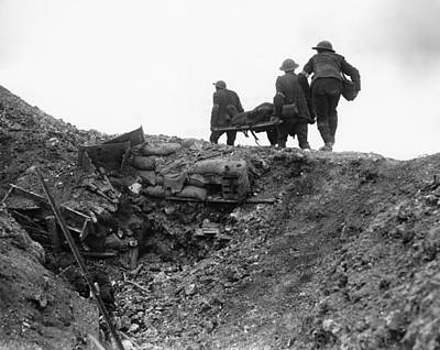 Somme Photograph - Wwi Somme, 1916 by Granger