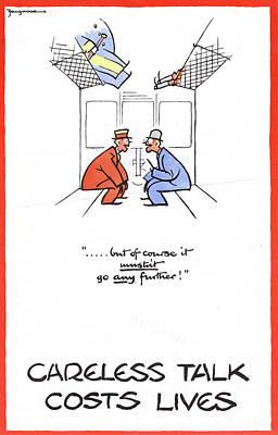 Wwii Poster, C1940 Art Print